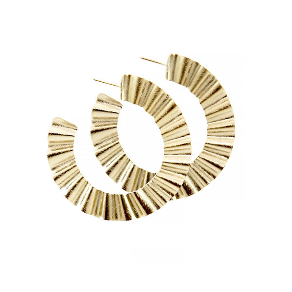 Big Wavy Earrings | Marcia Moran | Fashion Accessories | Earrings