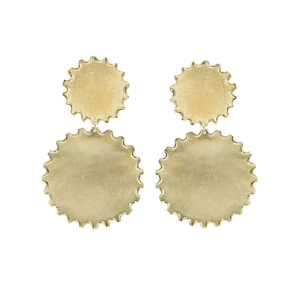 Round Shape Post Earrings | Marcia Moran | Fashion Accessories | Earrings
