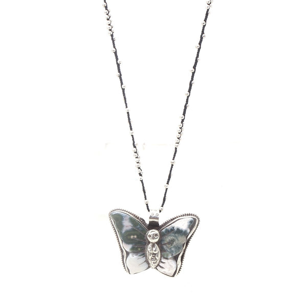 Nepal Butterfly Necklace | Native Gem | Fashion Accessories | Necklace