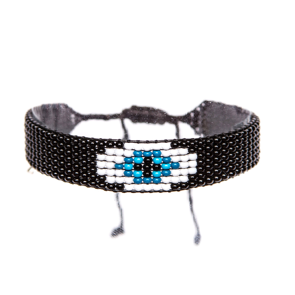 Evil Eye Blue Bracelet | Ayounik | Fashion Accessories |  Bracelet