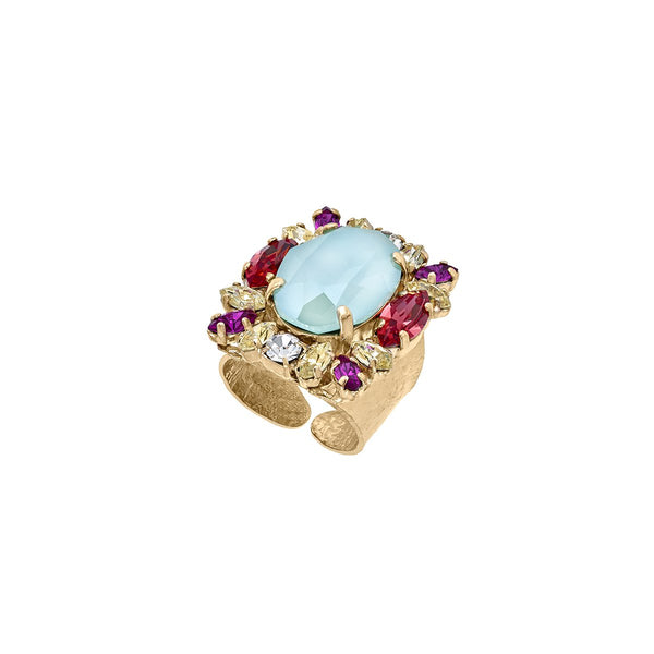 Gem Cluster Ring | Anton Heunis | Fashion Accessories | Ring