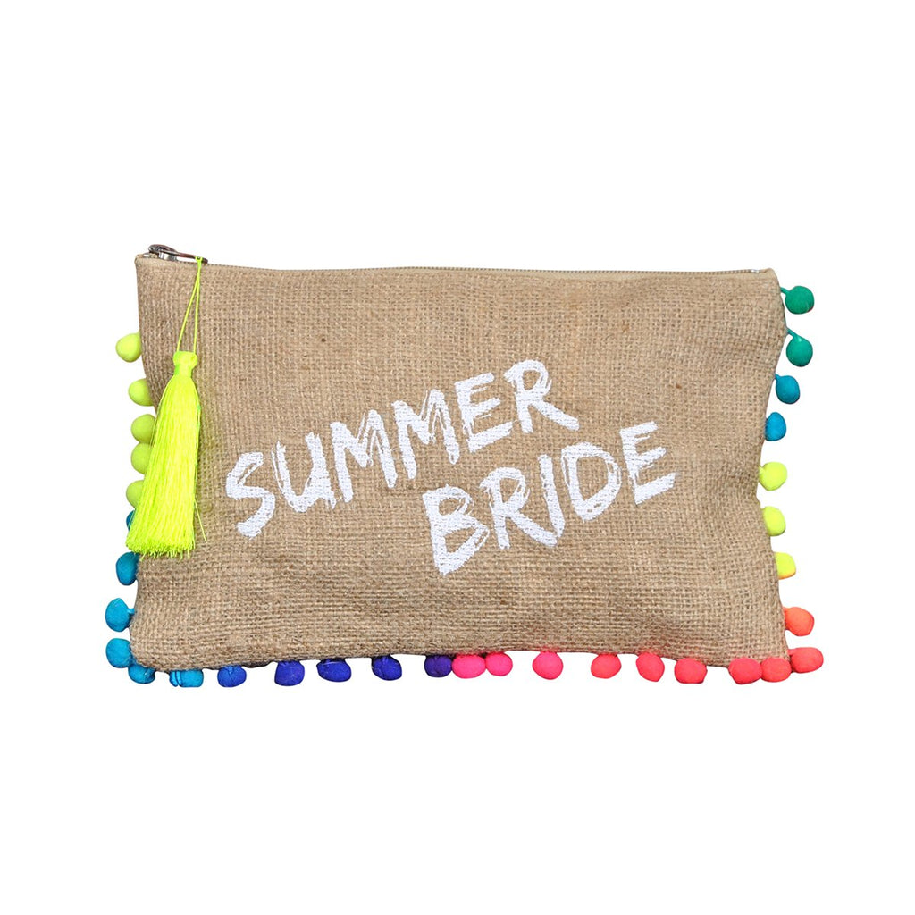 Summer bride clutch | Sand and lily | Bag | Clutch Bag