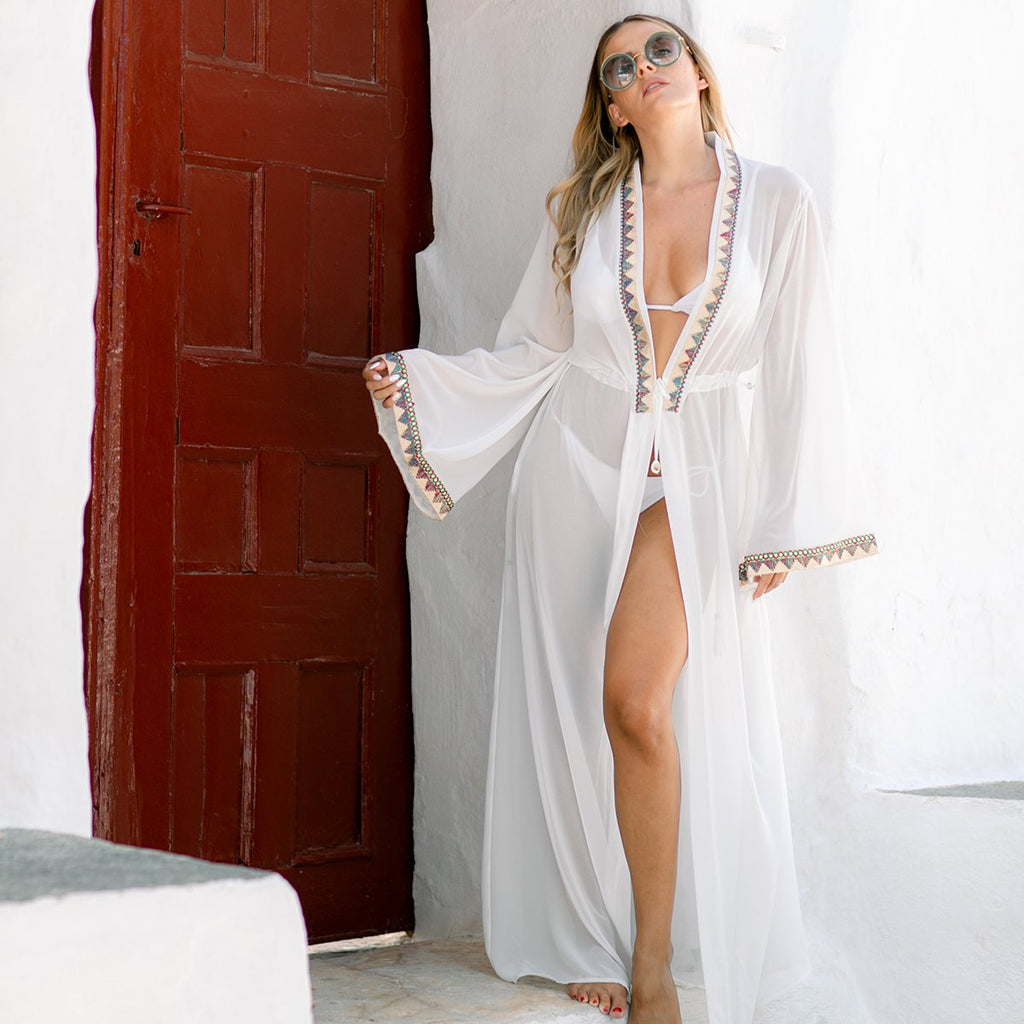 White Harem Disco Kimono | Mojo Beach | Clothes | Dress