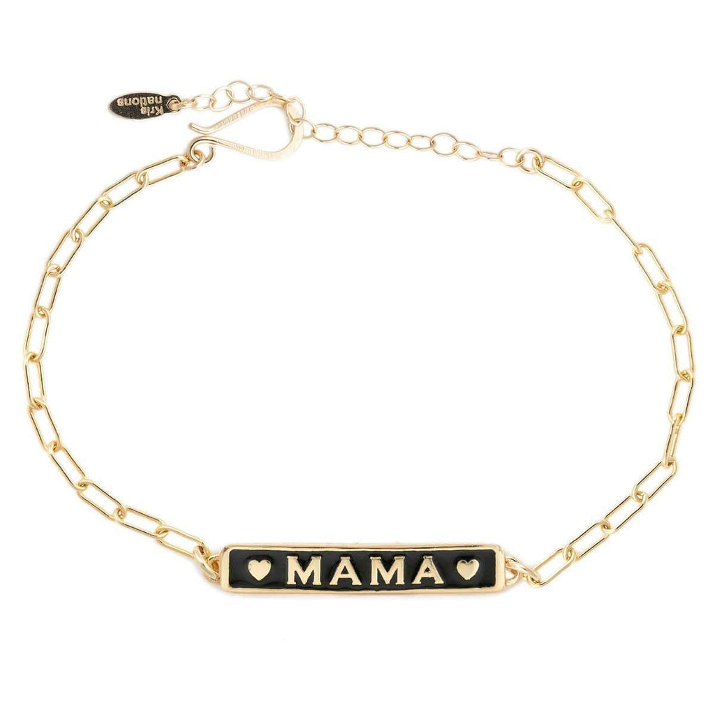 Mama enamel bracelet | Kris Nation | Fashion Accessories | Bracelet