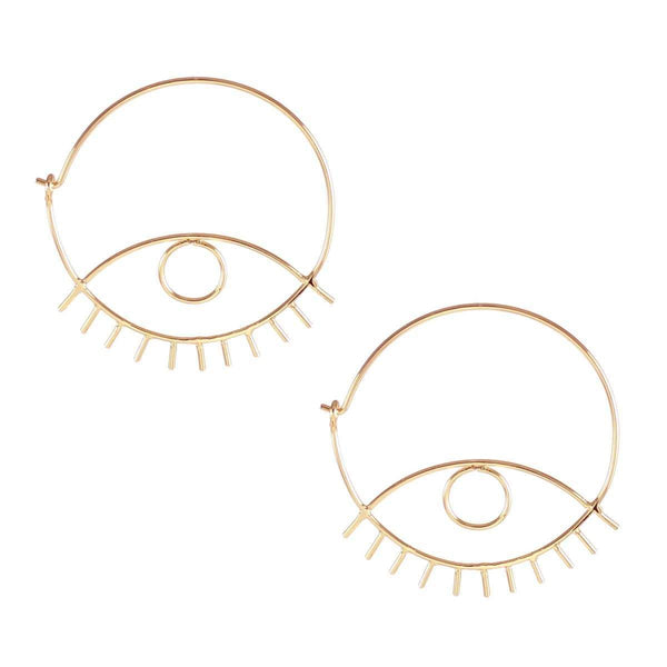 Third eye hoop earrings | Kris Nation | Fashion Accessories | Earrings
