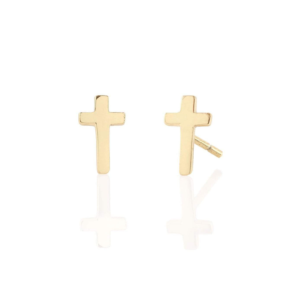 Cross stud earrings | Kris Nation | Fashion Accessories | Earrings