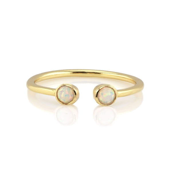 Opal double gemstone ring | Kris Nation | Fashion Accessories | Ring