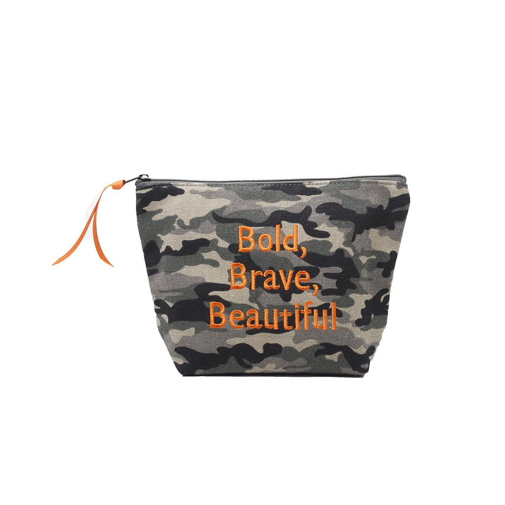 Bold, Brave Pouch| Dani Risi | Bag | Beauty Cases