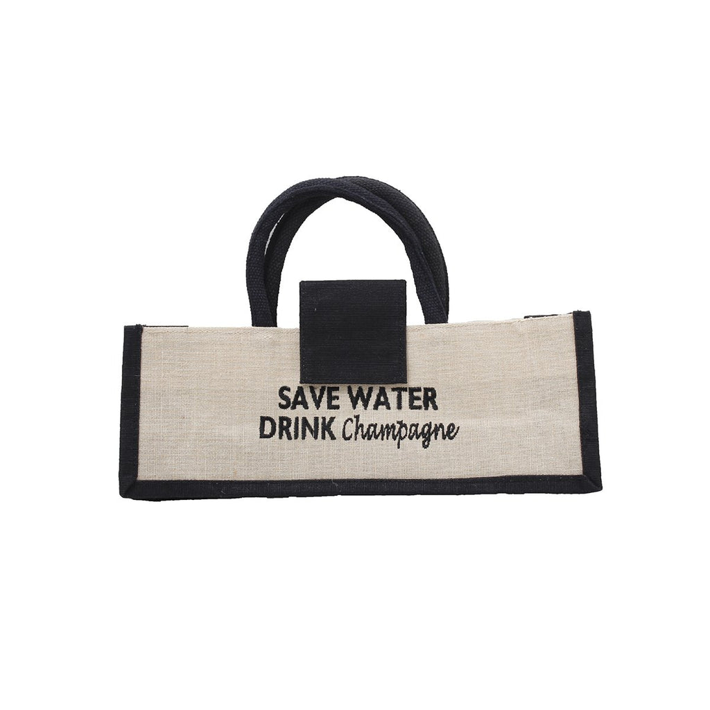 Save Water Wine Bag| Dani Risi | Bag | Wine Bag