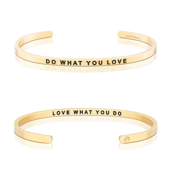 Do What You Love, Love What You Do bangle