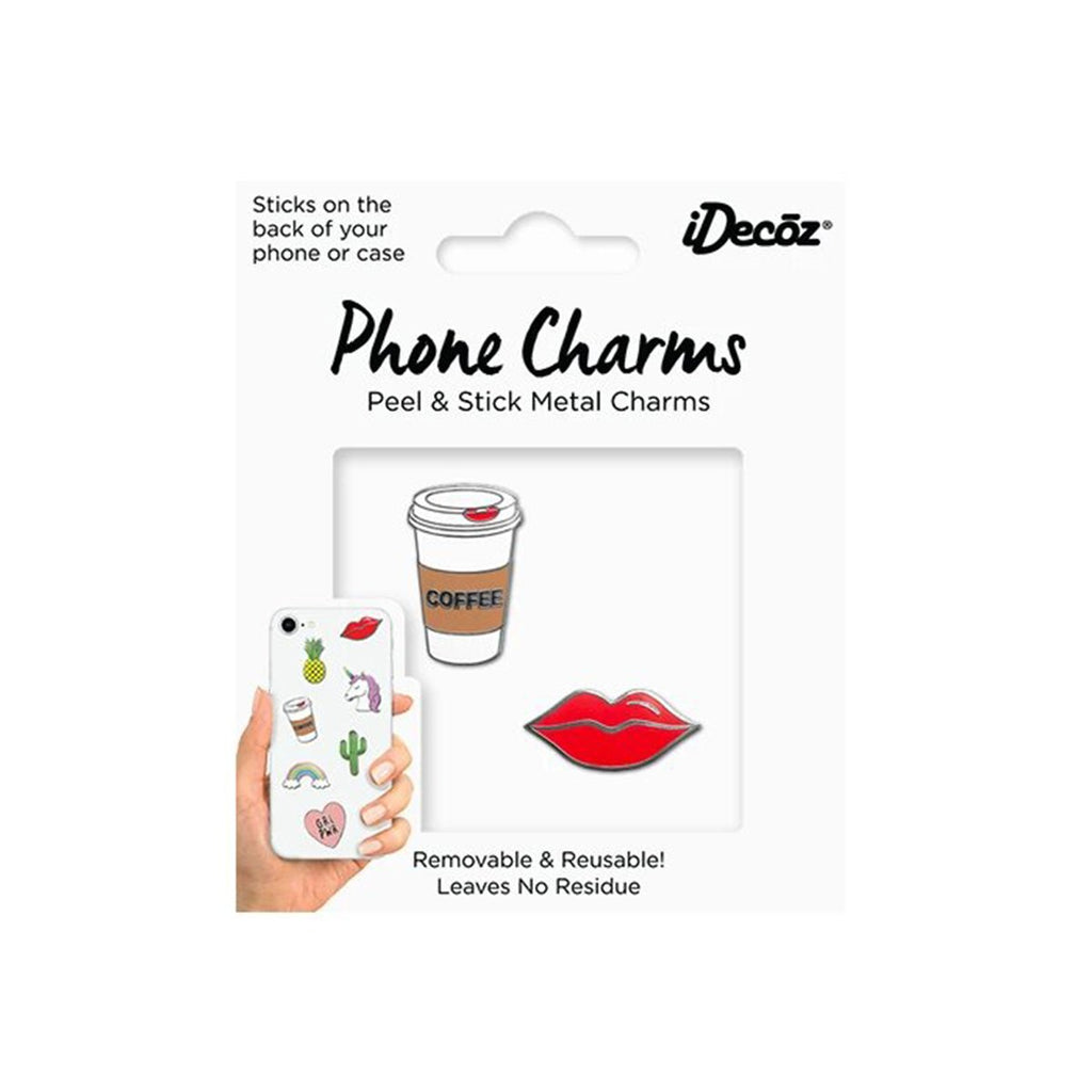 Coffee Phone Charms Pack | iDecoz | Mobile Phone Accessories | Fashion Accessories