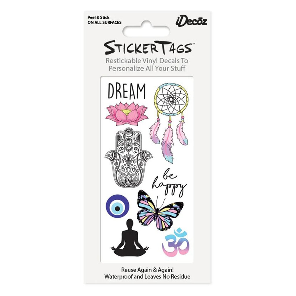 Dream Sticker Tags Pack | iDecoz | Mobile Phone Accessories | Fashion Accessories