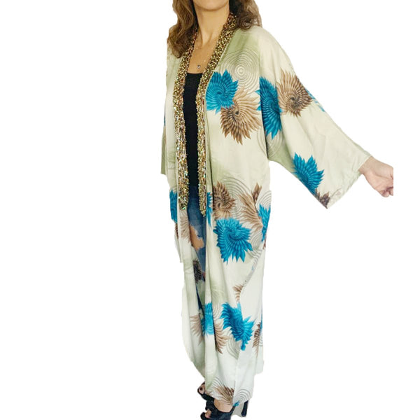 Beaded kimono | Kimora Kimono | Clothe | Dress