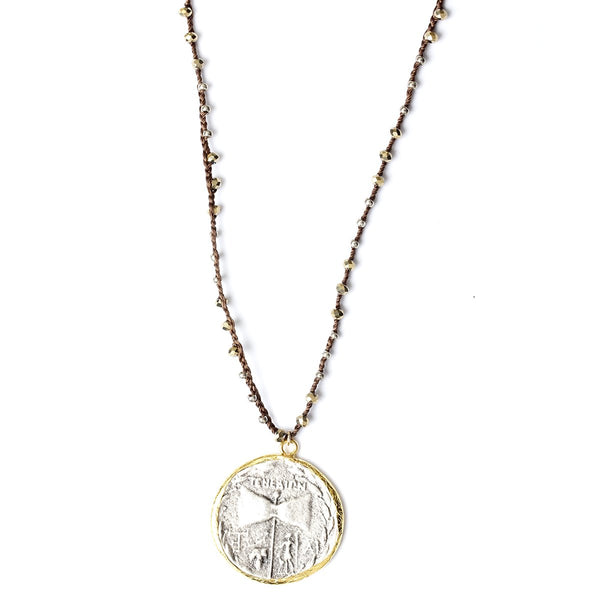 Fortuna Coin Necklace | Fashion Accessories | Native Gem | Necklace