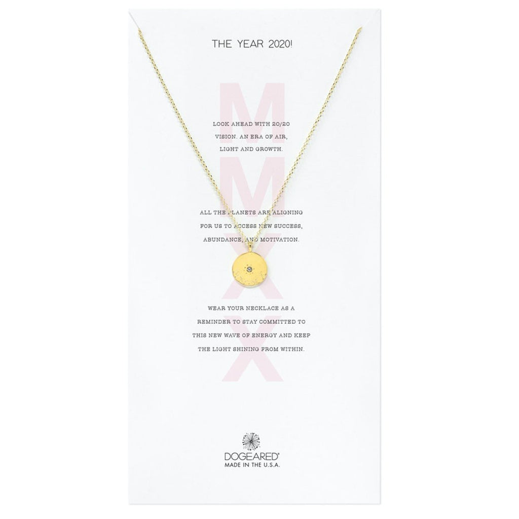 Gold dipped 2020 necklace | Dogeared | Fashion Accessories | Necklace