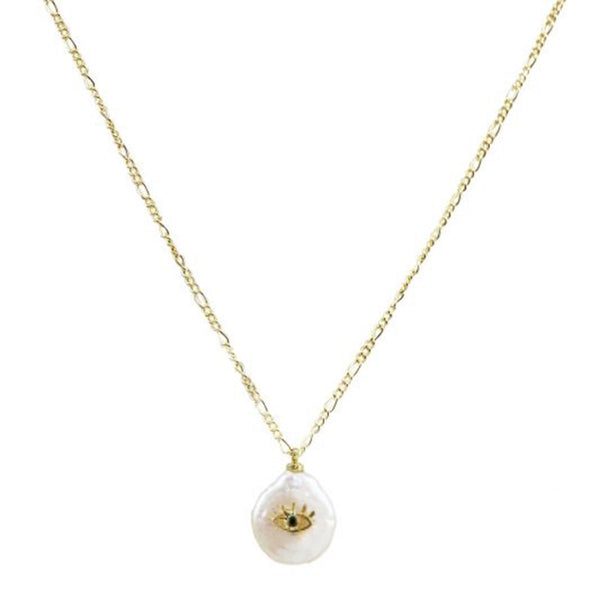 Evil eye charm necklace | Marcia Moran | Fashion Accessories |Necklace