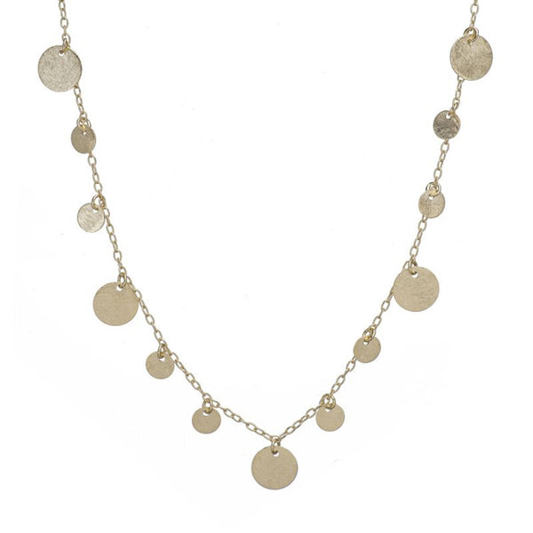 Multi coins long necklace | Marcia Moran | Fashion Accessories |Earrings
