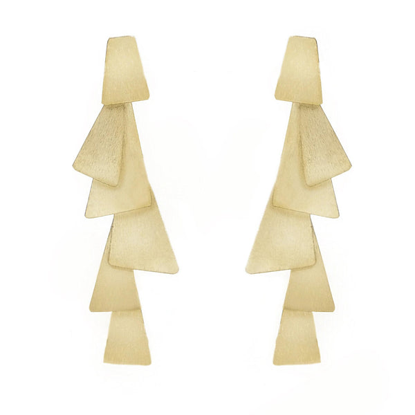 Geometric statement earrings | Marcia Moran | Fashion Accessories |Earrings