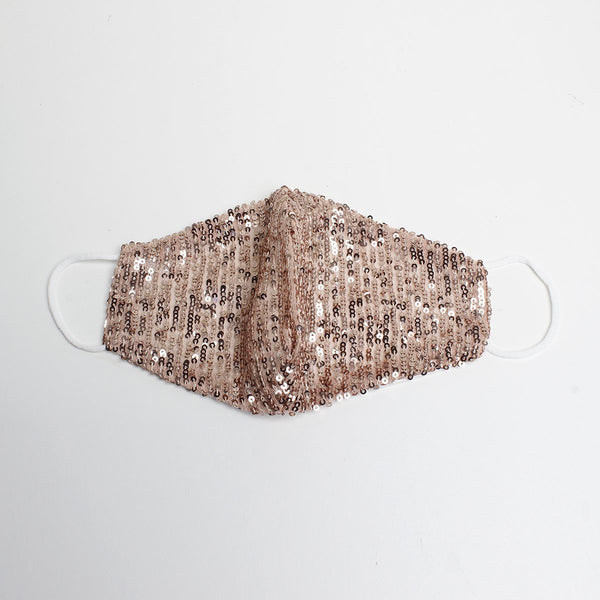 Pink Sequin Mask | Alex. Max | Fashion Accessories | Mask