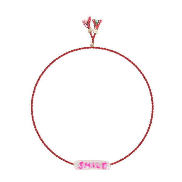 Painted Smile Bracelet | Sorbet Bracelet | Fashion Accessories |Bracelet