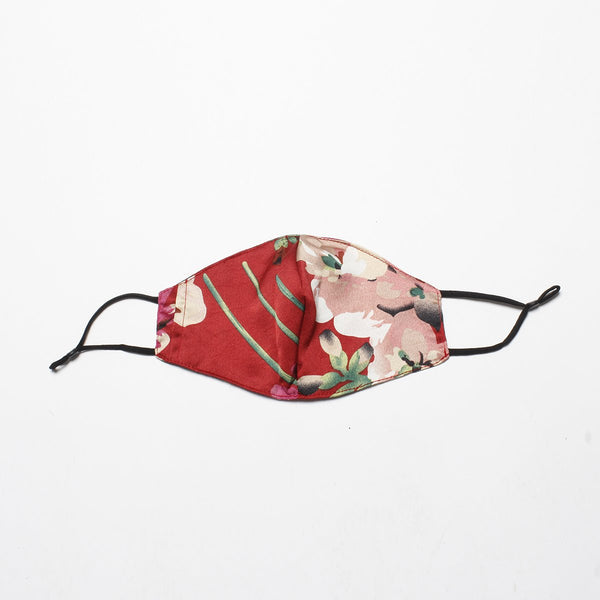 Red Floral Mask | Alex.Max | Fashion Accessories | Mask