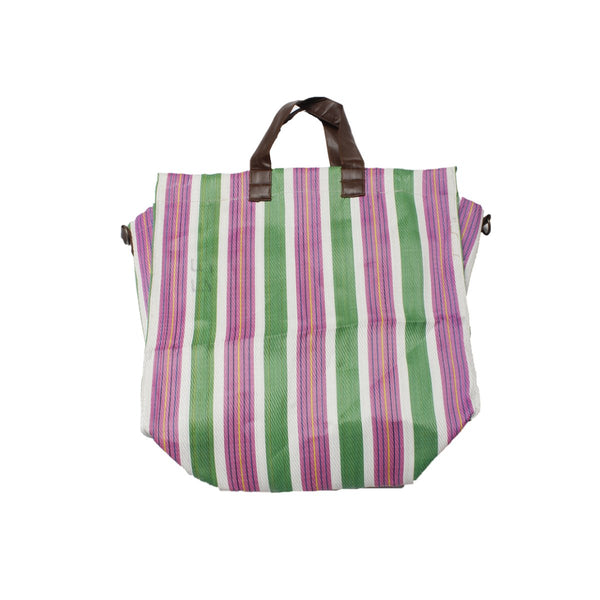 Purple Stripe Beach Bag | Alex.Max | Bag | Beach Bag