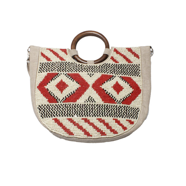 Beaded Tribal Tote Bag | Alex.Max | Bag | Tote Bag