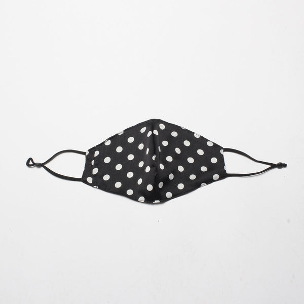 White Polka Dots Mask | Alex.Max | Fashion Accessories | Mask