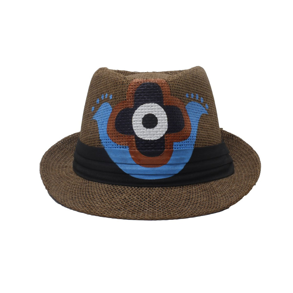 Fatimas Hand Brown Fedora Hat | City Girl | Fashion Accessories | Hats