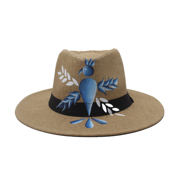 Phoenix Bird Brown Fedora Hat | City Girl | Fashion Accessories | Hats