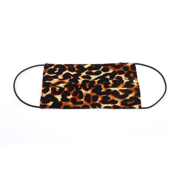 African Leopard Print Mask | From Kili with Love | Fashion Accessories | Mask