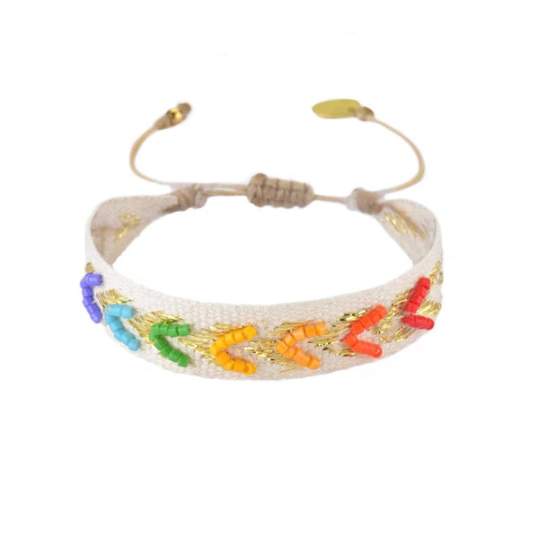 Rainbow Fowardly Bracelet | Mishky | Fashion Accessories | Bracelet