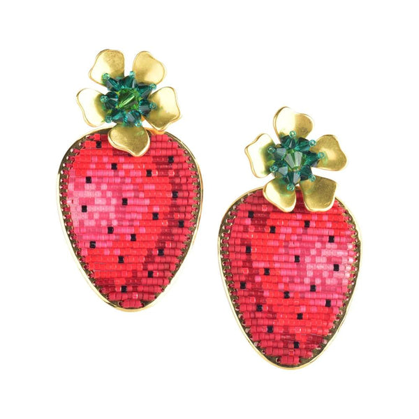 Straberry Earrings | Mishky | Fashion Accessories | Earrings