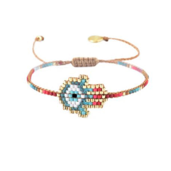 Hamsa Beaded Bracelet | Mishky | Fashion Accessories | Bracelet