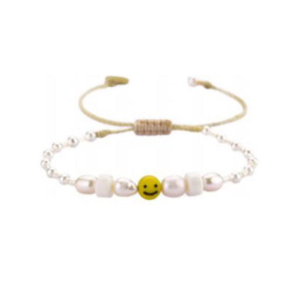 Smiley Beaded Bracelet | Mishky | Fashion Accessories | Bracelet