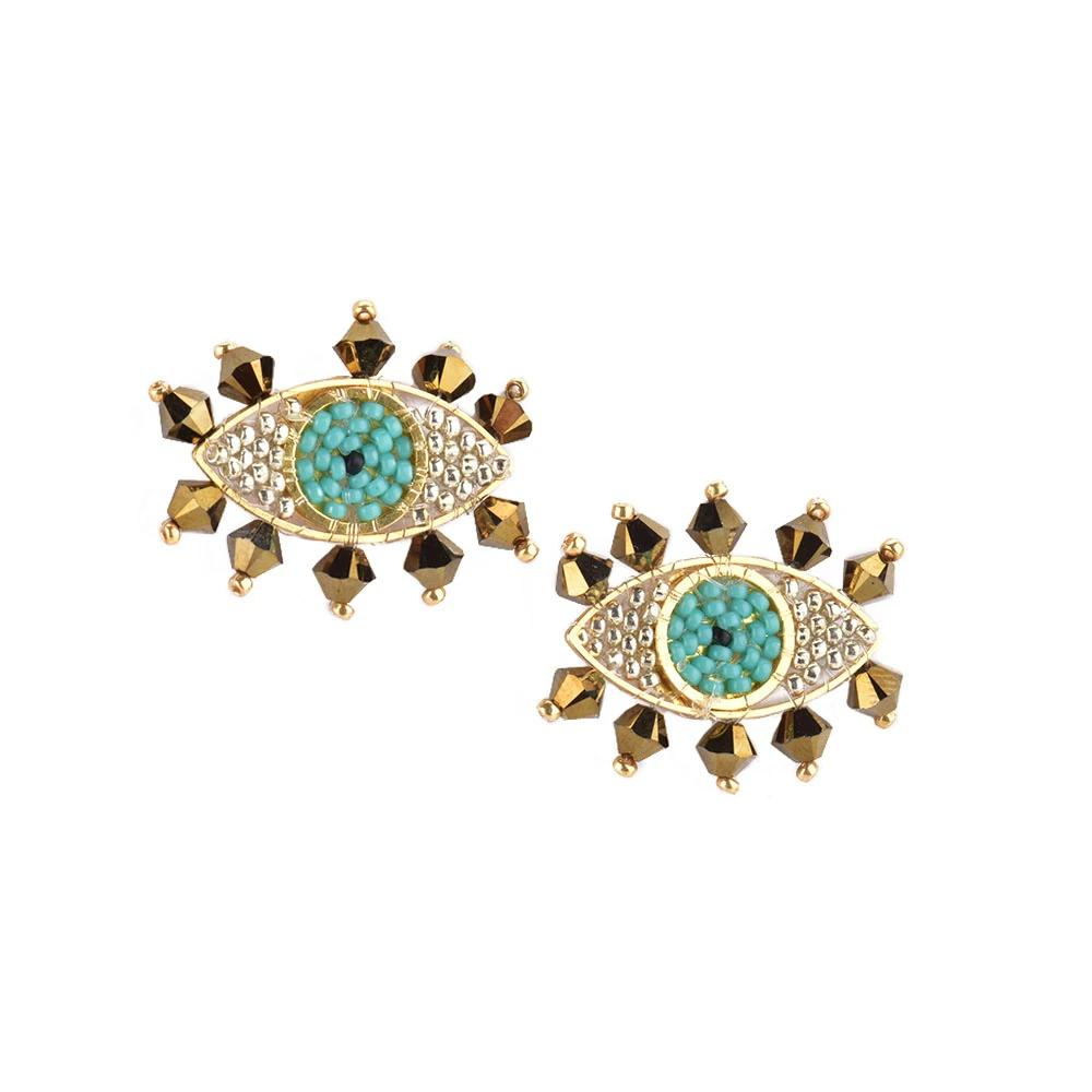 Evil Eye Earrings | Mishky | Fashion Accessories | Earrings