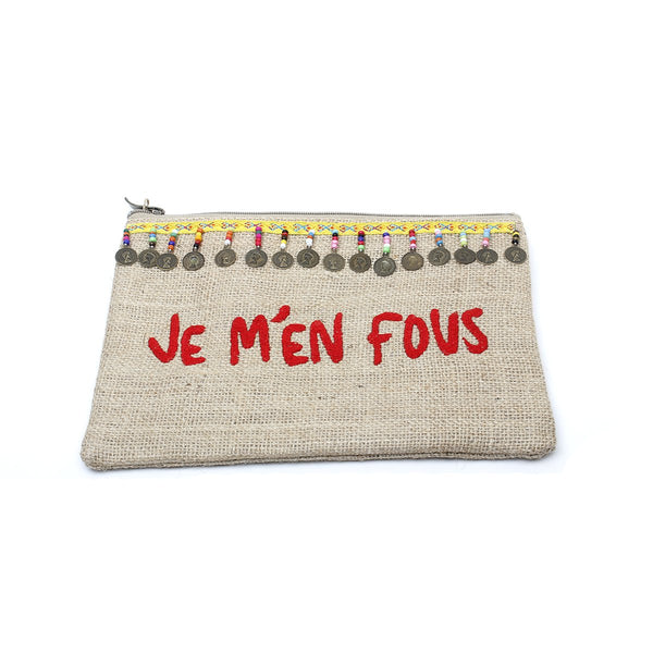 Je M'En Fous Clutch Bag | Sand and Lily | Bag | Clutch