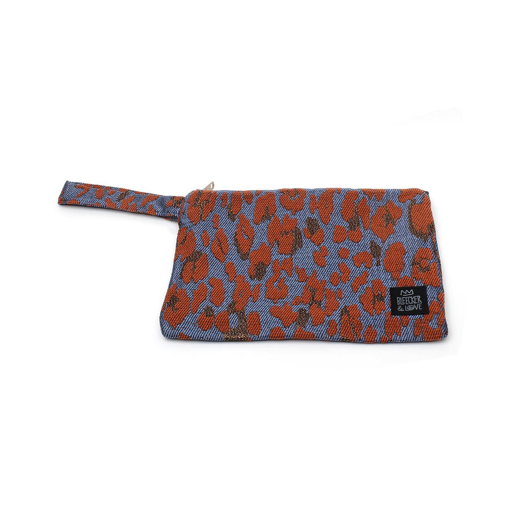 Small Leo-Terracotta Clutch Bag | Bleecker & Love | Bag | Clutch Bag