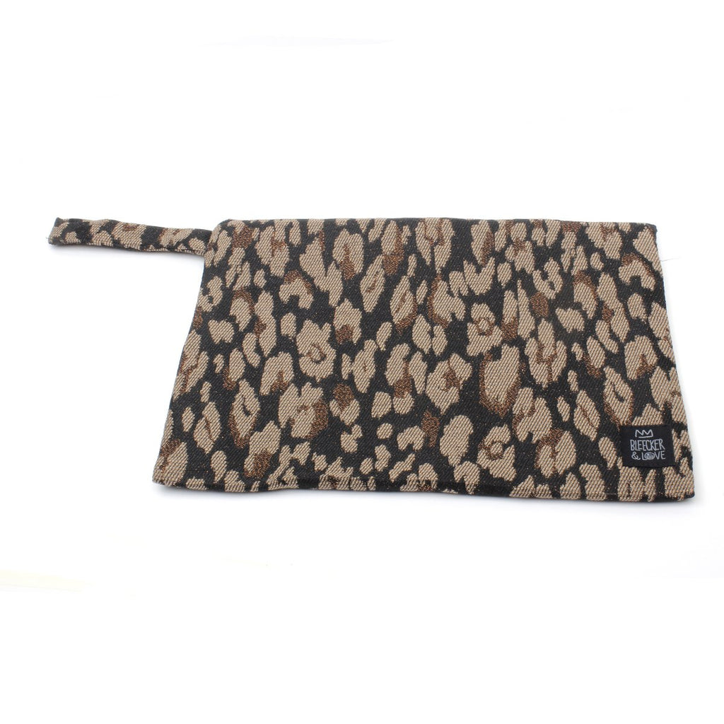 Medium Leo-Bronze Clutch Bag | Bleecker & Love | Bag | Clutch Bag