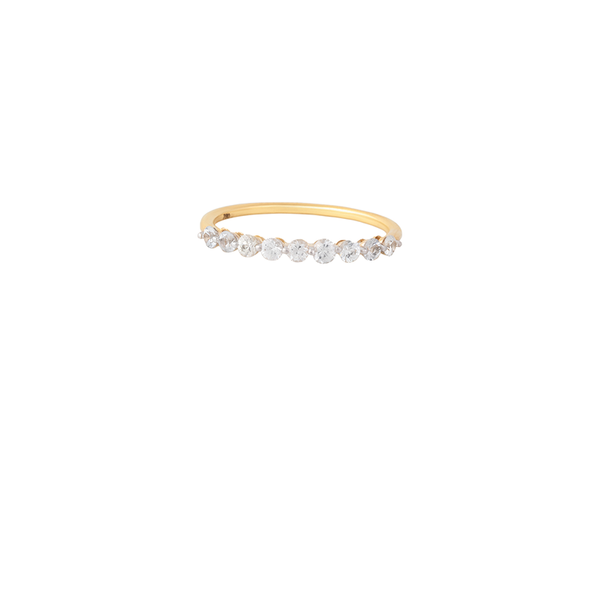 18K Gold Love Band Ring | Lylia Concept | Fine Jewelry | Ring