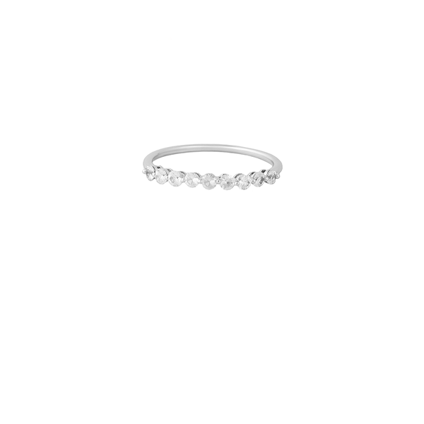 18K White Gold Love Band Ring | Lylia Concept | Fine Jewelry | Ring