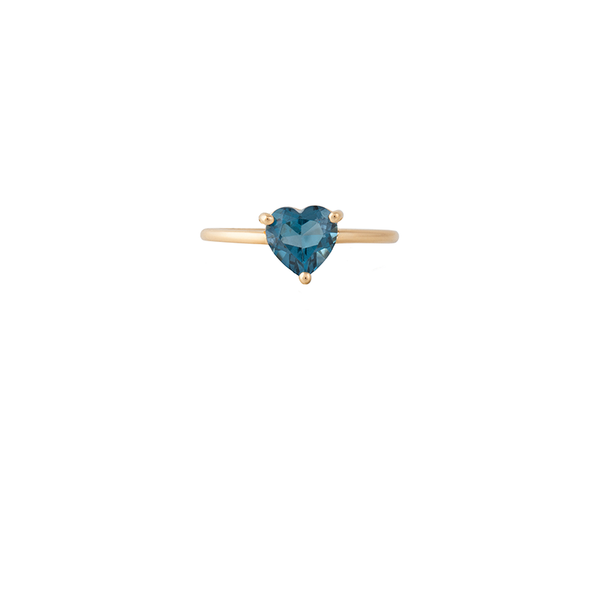 18K Gold Ocean Heart Ring | Lylia Concept | Fine Jewelry | Ring