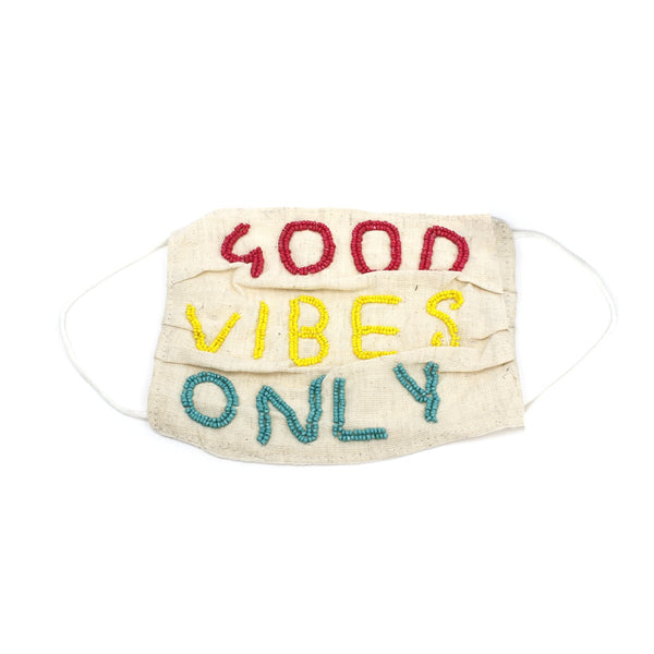 Natural Goodvibes Mask | Boom & Mellow | Accessories | Mask