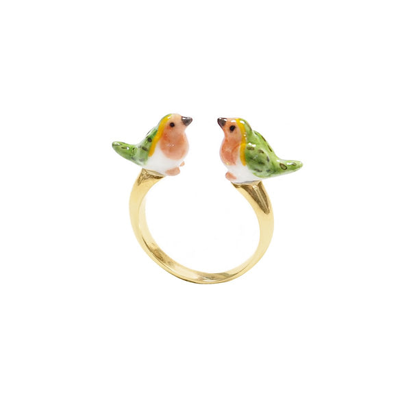 Robin Bird Facetoface Ring | Nach Bijoux | Fashion Accessories | Ring