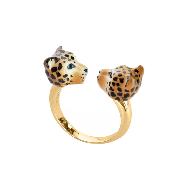 Leopard Facetoface Ring | Nach Bijoux | Fashion Accessories | Ring
