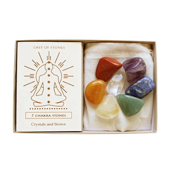Seven Chakra Stone Box | Cast of Stones | Home Accessories