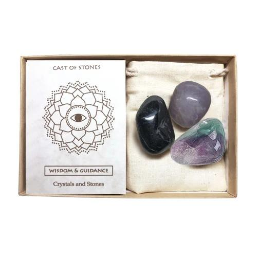 Wisdom And Guidance Stone Set | Cast of Stones | Home Accessories