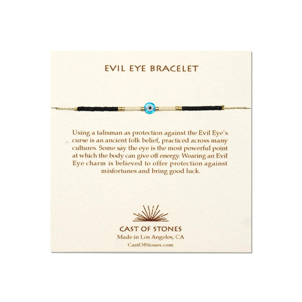 Turquoise Evil Eye Bracelet | Cast of Stones | Fashion Accessories | Bracelet