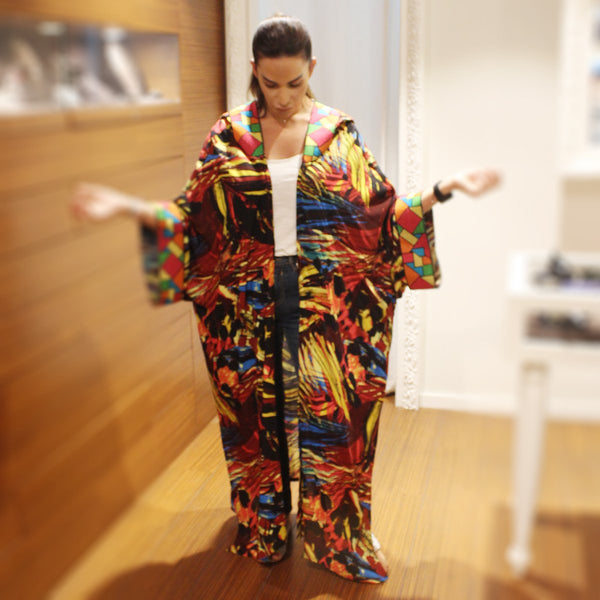 Rainbow Hoody Marrakesh Kimono | Kimora Kimono | Clothes | Dress