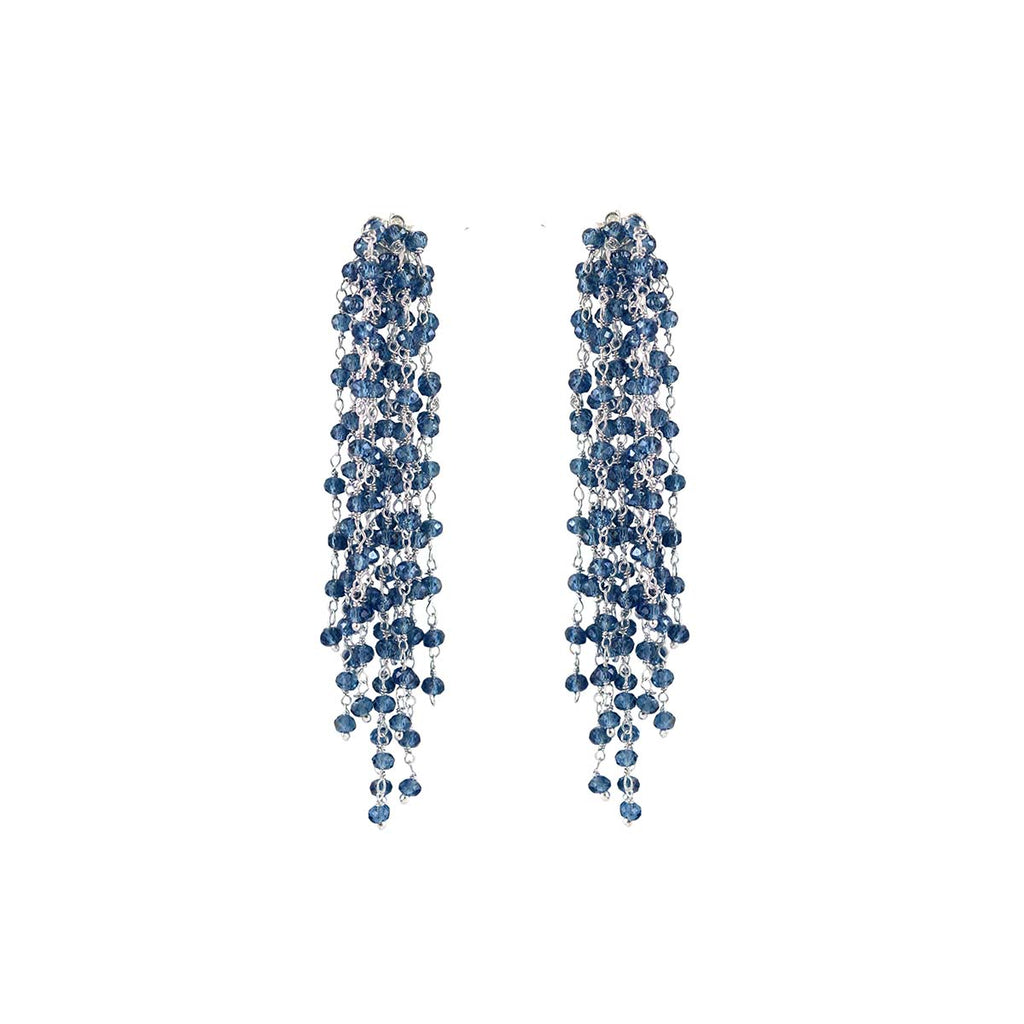 Edessa Blue Earrings | Miccy's | Fashion Accessories | Earrings
